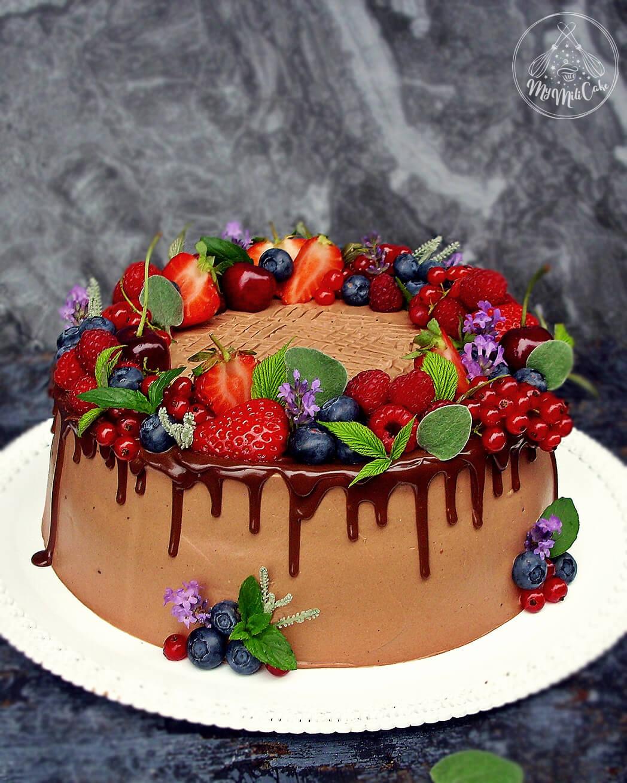 Torta čoko malina