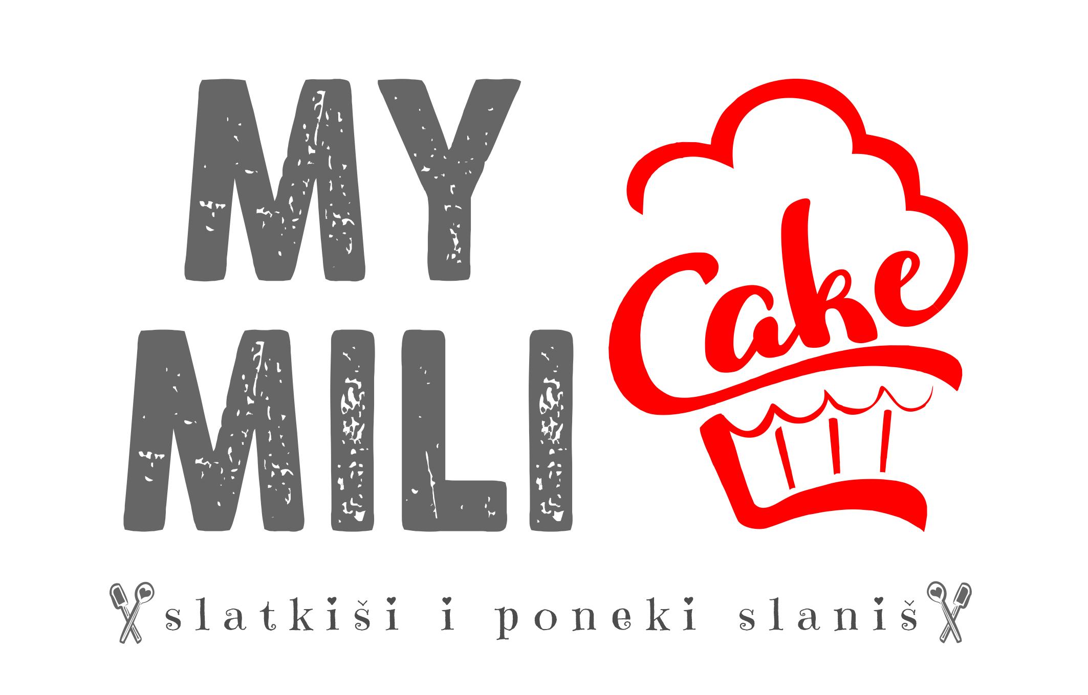 My Mili Cake Logo